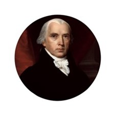 "James Madison 3.5"" Button"