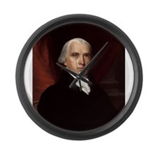 James Madison Large Wall Clock