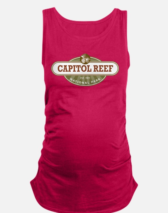 Capitol Reef National Park Maternity Tank Top