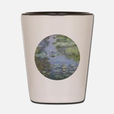 Water Lilies Shot Glass