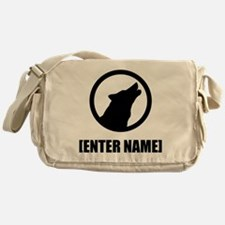 Wolf Personalize It! Messenger Bag