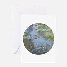 Water Lilies Greeting Cards