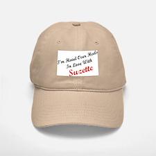 In Love with Suzette Baseball Baseball Cap