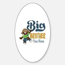 Happy Silly Big Brother Monkey Decal