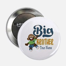 "Happy Silly Big Brother Monkey 2.25"" Button"