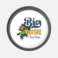 Happy Silly Big Brother Monkey Wall Clock