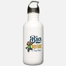 Happy Silly Big Brother Monkey Water Bottle