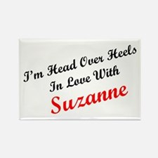 In Love with Suzanne Rectangle Magnet