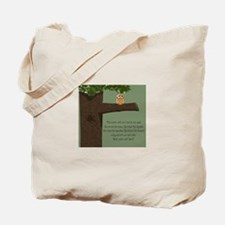 wise owl tote