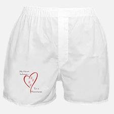 Havanese Heart Belongs Boxer Shorts