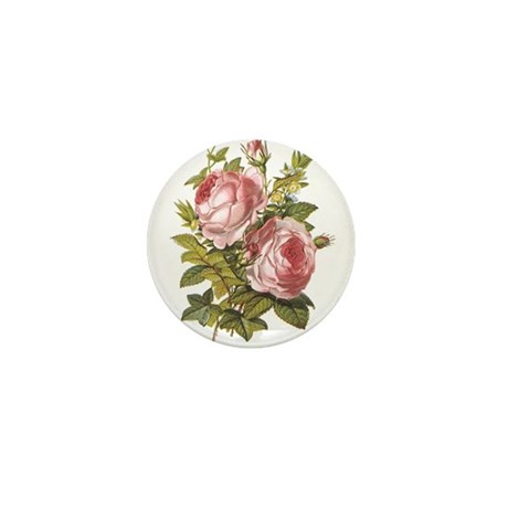 Rose, Myrtle and Ivy Mini Button