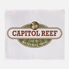 Capitol Reef National Park Throw Blanket