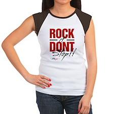 Rock it Dont stop Women's Cap Sleeve T-Shirt
