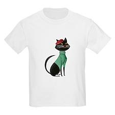 Black Cat from Paris T-Shirt