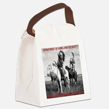 NDN Warriors Homeland Security Canvas Lunch Bag
