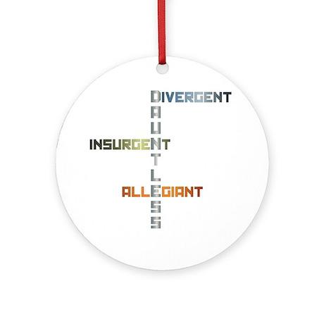 Dauntless - Divergent, Insurgent, A Round Ornament