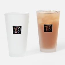 POW CROSS Drinking Glass