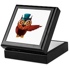 Wise Owl Keepsake Box