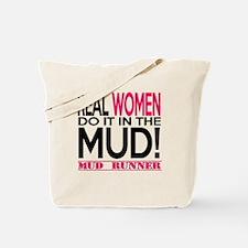 Read Women Do It In The Mud (Pink Mud Runner) Tote