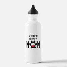 Norwich Terrier Mom Water Bottle