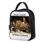Brush Rabbit Neoprene Lunch Bag
