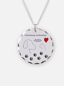 Veterinary Technician-Paw Pr Necklace