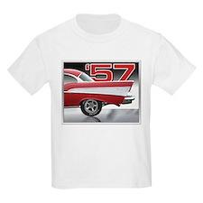 1957 Chevy Belair Kids T-Shirt