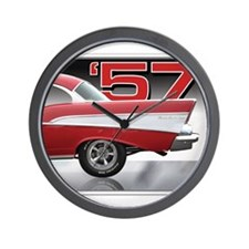 1957 Chevy Belair Wall Clock