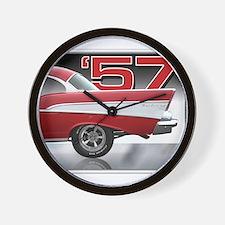 1957 Chevy Belair Wall Clock