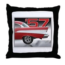 1957 Chevy Belair Throw Pillow