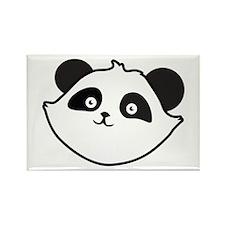 Cute Panda Face Magnets