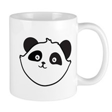 Cute Panda Face Mugs