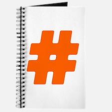 Orange #Hashtag Journal