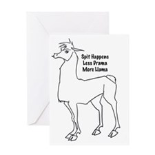 Spit Happens Greeting Card
