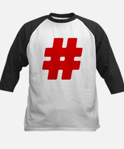 Red #Hashtag Tee