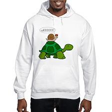 Snail on Turtle Hoodie