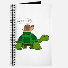 Snail on Turtle Journal