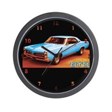 Blue GTO Wall Clock