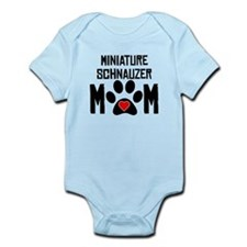 Miniature Schnauzer Mom Body Suit