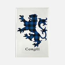 Lion - Cargill Rectangle Magnet