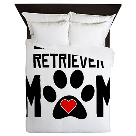 Labrador Retriever Mom Queen Duvet