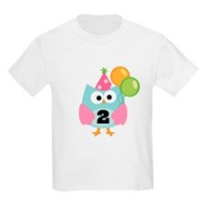 2nd Birthday Owl T-Shirt