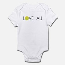 Tennis LOVE ALL Infant Bodysuit