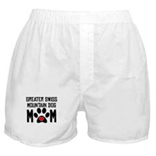 Greater Swiss Mountain Dog Mom Boxer Shorts