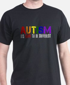 Autism Different T-Shirt