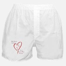 Kerry Blue Heart Belongs Boxer Shorts