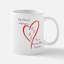 Kerry Blue Heart Belongs Mug
