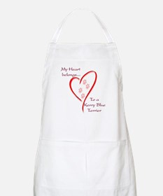 Kerry Blue Heart Belongs BBQ Apron