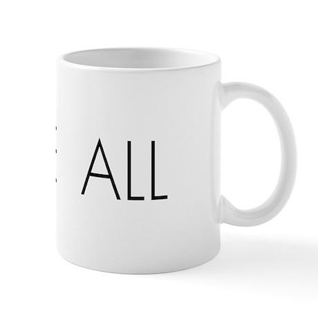 Tennis LOVE ALL Mug