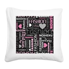 Fashion Love  Square Canvas Pillow
